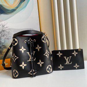 Ŀọụiṣ Ṿụiṭṭọṇ New  Neonoe MM Black/Beige Bag
